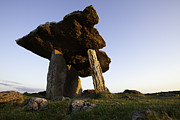 The Burren Prints - Poulnabrone Dolmen Print by Ruben Vicente