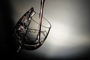 Pouring Wine Photos - Pouring Water by Niecy Love