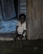 Edwin Alverio Prints - Poverty  Print by Edwin Alverio