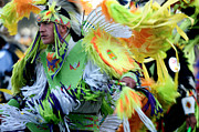Powwow Posters - Pow Wow Dancer Poster by Chris  Brewington Photography LLC