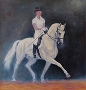 Dressage Horse Originals - Power and Grace by Sue Linton
