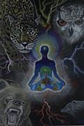 Power Animals Print by Ethan  Foxx