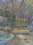 Power Corridor Print by Donald Maier