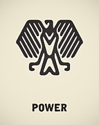 Eagle Drawing Posters - Power Poster by Igor Kislev