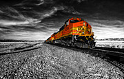Bnsf Framed Prints - Power of the Santa Fe  Framed Print by Rob Hawkins