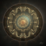 Mandala Digital Art - Power Source by Amanda Makepeace