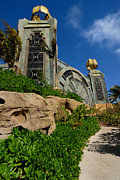 Recreation Metal Prints - Power Tower at the Atlantis Resort Aquaventure Metal Print by Amy Cicconi