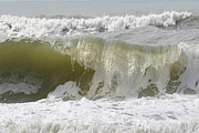 Powerful Wave Print by Michele Kaiser