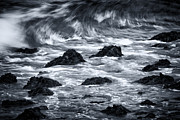 Salt Water Prints - Powerful Wave Print by Todd Bielby