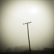 Power Photos - Powerlines by Les Cunliffe