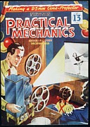 Films Drawings Framed Prints - Practical Mechanics 1950s Uk Cine Film Framed Print by The Advertising Archives