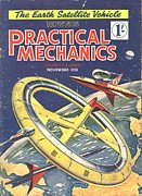 Nineteen-fifties Posters - Practical Mechanics 1950s Uk Visions Poster by The Advertising Archives