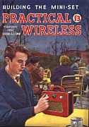 Nineteen Fifties Drawings - Practical Wireless 1950s Uk Radios Diy by The Advertising Archives