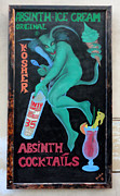 Karluv Most Posters - Prague - Absinth Poster by Gregory Dyer