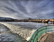 Vltava Digital Art - Prague by Alfredo Machado
