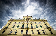 Prague Castle Photos - Prague Castle - Archbishops Palace by Matthias Hauser