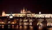 Prague Photo Posters - Prague Castle Poster by Shawn Everhart