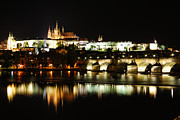 Prague Castle Framed Prints - Prague Castle Framed Print by Syed Aqueel