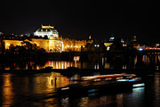 Best Choice Framed Prints - Prague National Theater Framed Print by Syed Aqueel