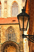 Prague Digital Art Prints - Prague - Old Town Print by Ludek Sagi Lukac