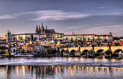 Prague Castle Framed Prints - Prague Framed Print by Ryan Wyckoff