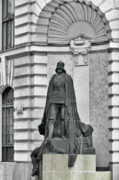 Vertical Art - Prague - The Iron Man from a long time ago and a country far far away by Christine Till