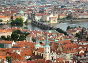 Gregory Dyer - Prague - View from Castle tower - 06