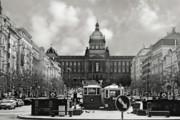 Christine Till - Prague Wenceslas Square and National Museum