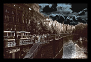 Prague Digital Art Metal Prints - Praha Metal Print by Eduardo Graf Lichnowsky
