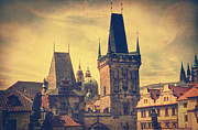 Charles Bridge Photo Acrylic Prints - Praha Acrylic Print by Taylan Soyturk