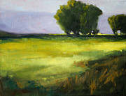 Spring Time Paintings - Prairie Light by Nancy Merkle