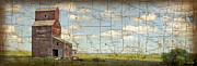 Old Map Digital Art - Prairie Panorama by Judy Wood