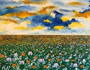 Prairie Sky Paintings - Prairie Sky by Troy Thomas