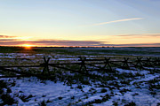 Ft. Collins Greeting Cards Prints - Prairie Sunrise Print by Jon Burch Photography