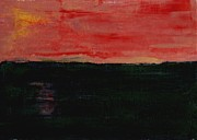 Prairie Sunset Paintings - Prairie Sunset by Ralph LeCompte
