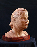 Women Sculptures - Prairie Woman by Dan Redmon