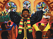 Praise Him Print by Lawrence Childress