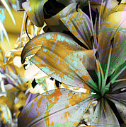 Turning Leaves Mixed Media Prints - Pram II Print by Yanni Theodorou