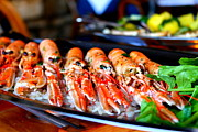 Crawfish Photos - Prawns Aplenty by Saya Studios