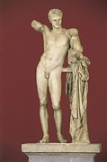 Dionysus Photos - Praxiteles Flourished 370, -330 Bc by Everett