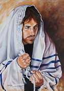 Prayer For Israel Print by Ilse Kleyn