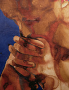 Thinker Paintings - Prayer by Graham Dean