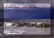 Christian Prayer Photos - Prayer in Storm by Carolyn Marshall