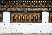 Himalaya Paintings - Prayer Wheel by Lanjee Chee