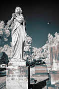 Prayers Of A Wingless Angel - Greensboro Nc II Print by Dan Carmichael