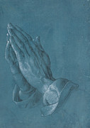 Prayer Drawings - Praying Hands 1508 by Albrecht Durer