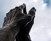 Praying Photo Originals - Praying Hands by Sahm King