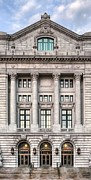 Court House Framed Prints - Precedent Makes Law V Framed Print by JC Findley