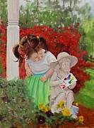 Front Yard Prints - Precious Memories Two Print by Laura Lee Zanghetti