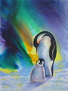 Penguins Art - Precious by Mohamed Hirji
